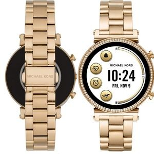 Michael Kors Gold Tone Gen 4 Sophie Smartwatch